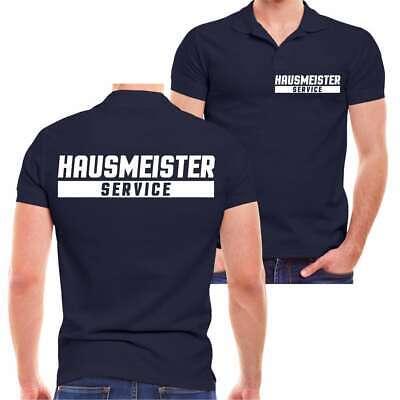 POLO Shirt Hausmeister Service haus garten werk firma hausmeisterdienst geschenk