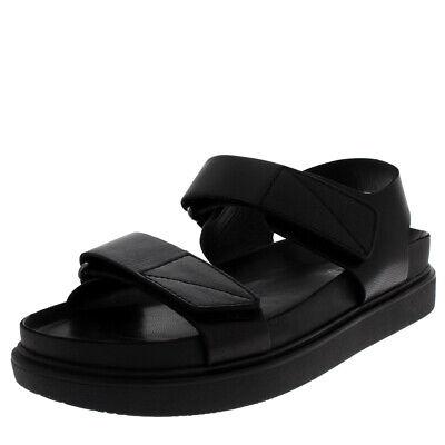 Womens Vagabond Erin Leather Black Festival Summer Beach Sandals UK 3.5-8