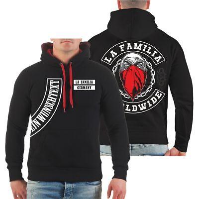 Kapuzenpullover WUNSCHTEXT La Familia WORLDWIDE Hardcore Streetwear loyal Hoodie