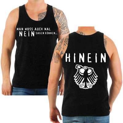 Träger Tank Top Shirt Spruch NEIN sagen können Bier sprüche Männertag tour pub  - Tag Tank Top