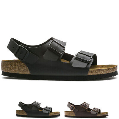 Womens Birkenstock Milano Birko-Flor Beach Holiday Summer Strappy Sandals UK 3-9