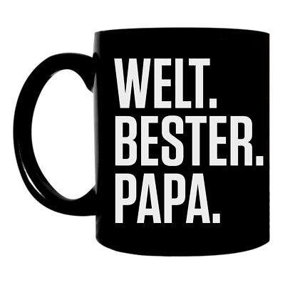 Kaffee Tasse Becher Welt bester Papa vater dad papi kinder geschenk