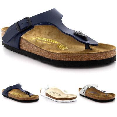 Unisex Adults Birkenstock Gizeh Birko Flor Summer Open Toe T-Bar Sandals UK 3-13