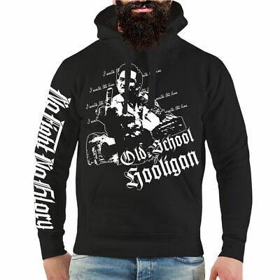 Kapuzenpullover Oldschool Hooligan Rockn Roll fuck Oi Ultras criminal Fan Hoodie