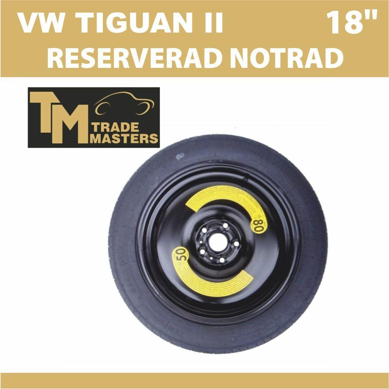 original vw tiguan notrad reserverad ersatzrad