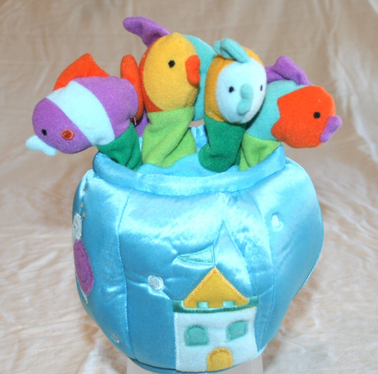 Manhattan Toy - Bowl of Fish Hand Puppet