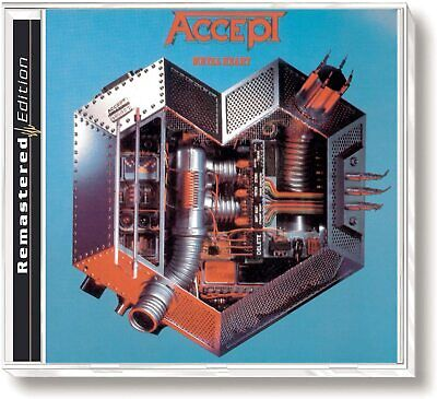 ACCEPT - METAL HEART - REMASTERED - CD
