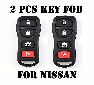2 New Replacement Keyless Entry Remote Control Key Shell Clicker for KBRASTU15
