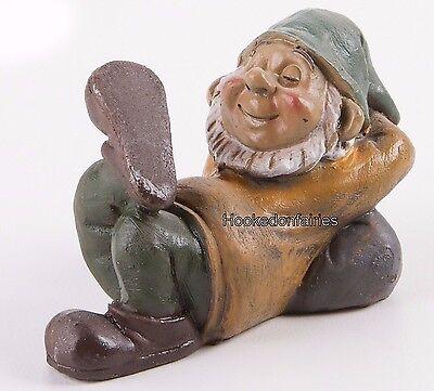 Miniature Sleeping Napping Gnome DA  161514  Fairy Garden  Terrarium (Fairy Garden Terrarium)