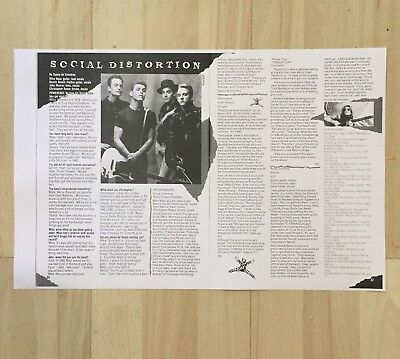 Mike Ness Social Distortion Interview Poweredge Skateboard Magazine Prison Bound