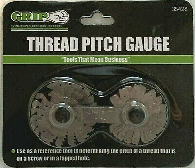 Thread Pitch Gauge Sae 4-42 Metric .25 - 5.5