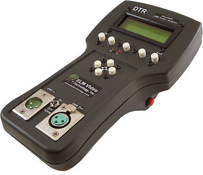 DMX TESTER ANALYZER Portable Save Recall Preset Send Receive  View DMX512 (Dmx Tester)