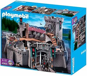 PLAYMOBIL-CASTILLO-4866-034-CABALLEROS-DEL-HALCON-034