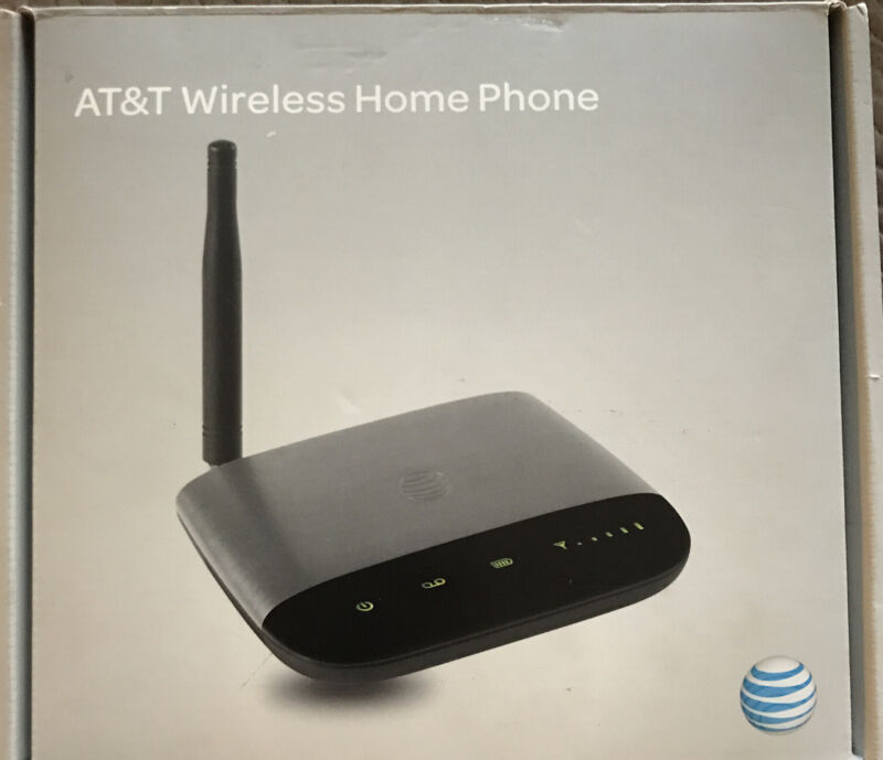 ZTE AT&T Wireless Home Phone Base WF721 Router NEW OPEN BOX w/ SIM CARD