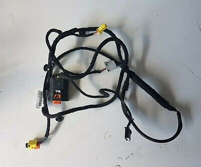 VAUXHALL ASTRA J DRIVERS SIDE FRONT SEAT AIRBAG WIRING LOOM HARNESS GM 13257353