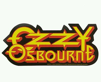 Official Ozzy Osbourne Sticker (Includes a Free Badge Of Your Choice)