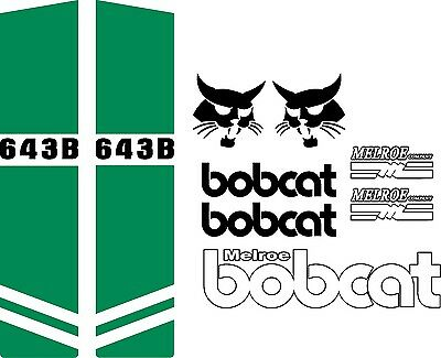 642b C Repro Decals Decal Kit Sticker Set Us Seller Fits Bobcat