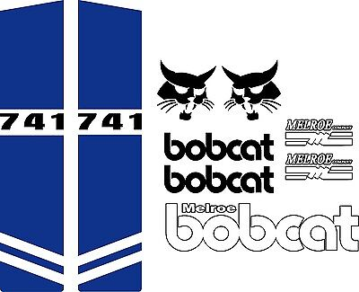 741 Repro Decals Decal Kit Sticker Set Us Seller Free Shipping Fits Bobcat