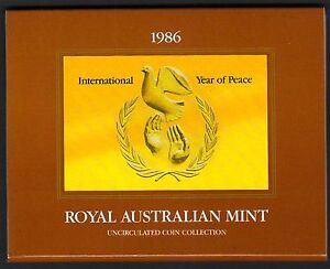 1986 Royal Australian Mint Un
