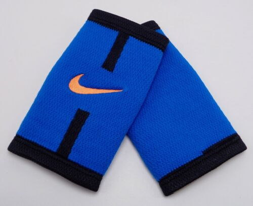 Nike Stealth Doublewide Wristbands Court Logo Blue Spark/Black/Total Orange