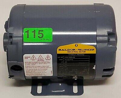 Ultrafryer 17a018 Baldor 2547803999 .33 Hp 115v 48yz 1725rpm Electric Motor