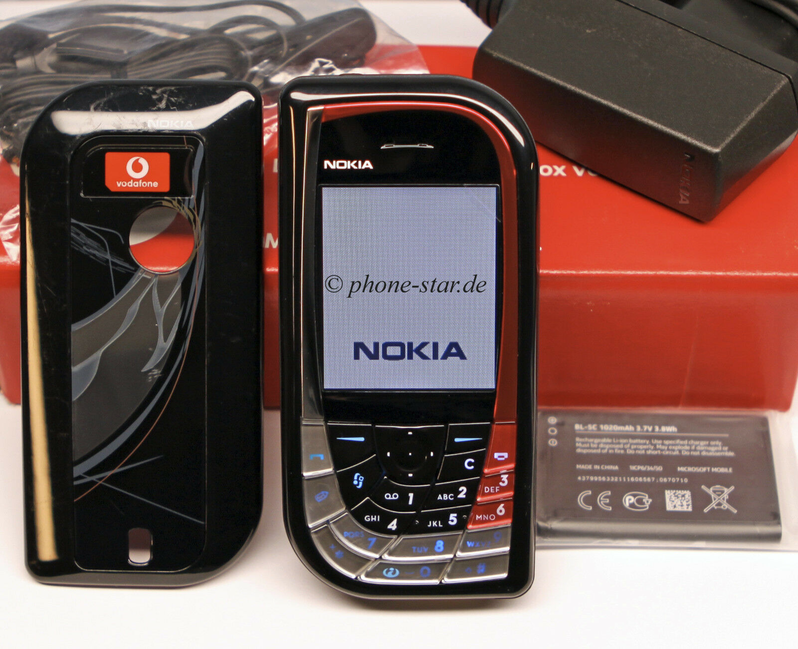 ORIGINAL NOKIA 7610 RH-51 DESIGN HANDY MOBILE PHONE BLUETOOTH KAMERA TRI-BAND