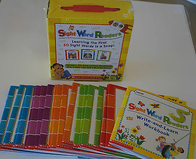 BOX SET 25 Little Easy Sight Word Readers PreK Kindergarten Homeschool Level A