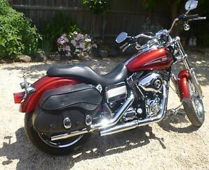 2008 Harley Davidson low rider, 6speed v2 DYNA red Geelong Geelong City Preview