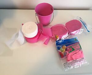 PINK Party Supplies. ALL for $2.00
