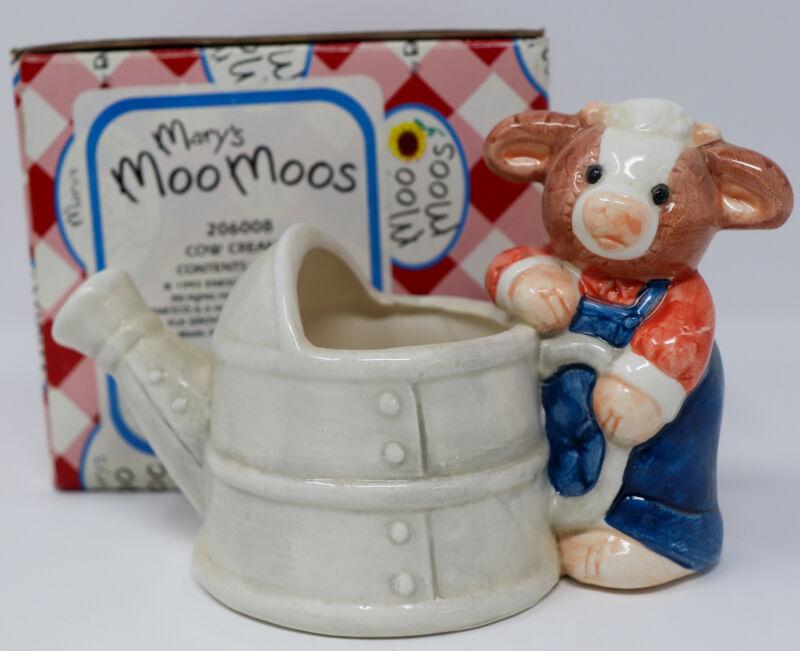 1993 Mary Moo Moos 206008 Cow Creamer w/Box