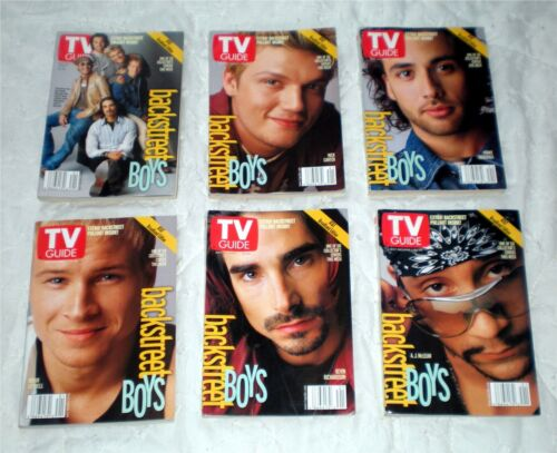 Backstreet Boys Complete TV Guide Book Set
