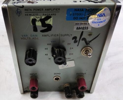 HP Power Amplifier 467A Hewlett Packard Electrical Industrial Device Equipment