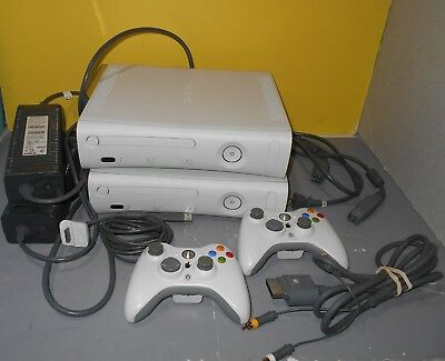 Working Microsoft Xbox 360 Pro Launch Edition 20GB White Console & 16GB Edition for sale  Shipping to India