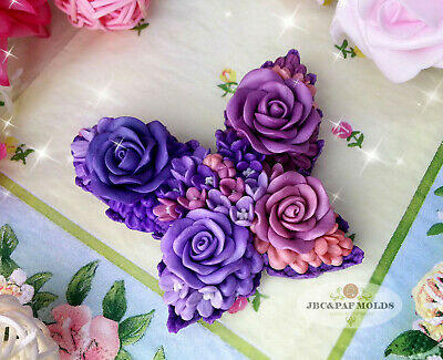 butterfly silicone soap mold - for soap making(Maked from high quality silicone)