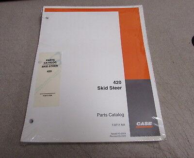 Case 420 Skid Steer Parts Catalog Manual 2004 7-9711