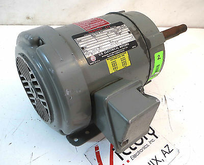Used Us Motors Unimount 125 3-phase Electric Motor 2 Hp 3485 Rpm 230-460 V