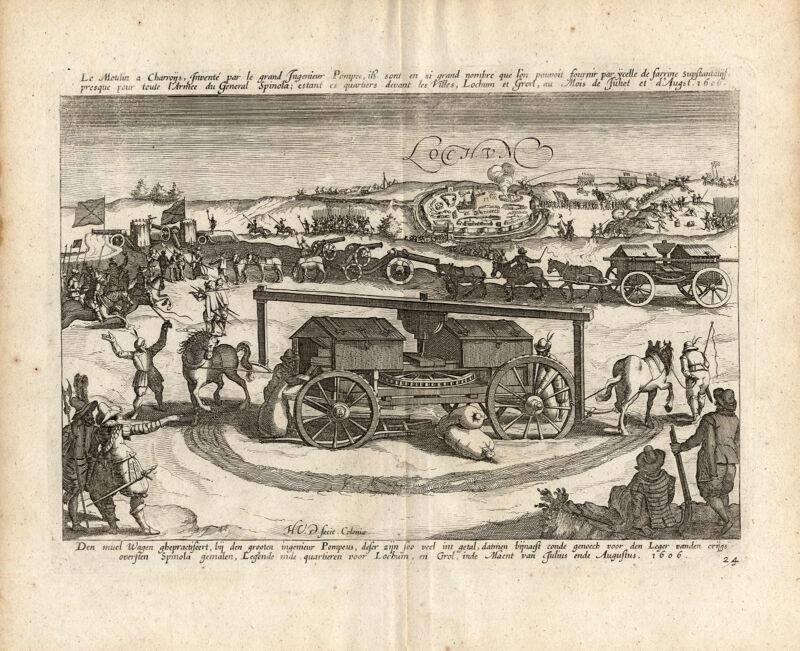 Antique Print-LOCHUM-LOCHEM-EIGHTY YEARS