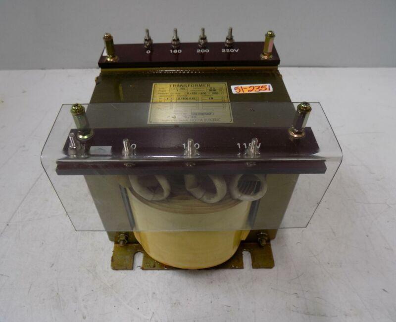 HOTTA ELECTRIC 180/200/220V TRANSFORMER HDP-156