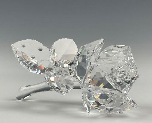 Swarovski Crystal The Rose Figurine Mint In Box!!