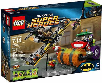 LEGO Batman 76013 The Joker Steam Roller - NEW! Sealed Set - damaged box