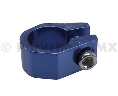 """bicycle frame seat clamp 28.6mm 1-1//8/"""" Chrome Classic vintage"""