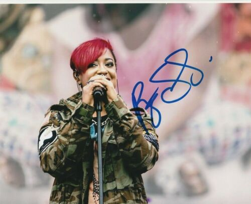 * RAPSODY * signed autographed 8x10 photo * POWER * SIJOURNER * 5