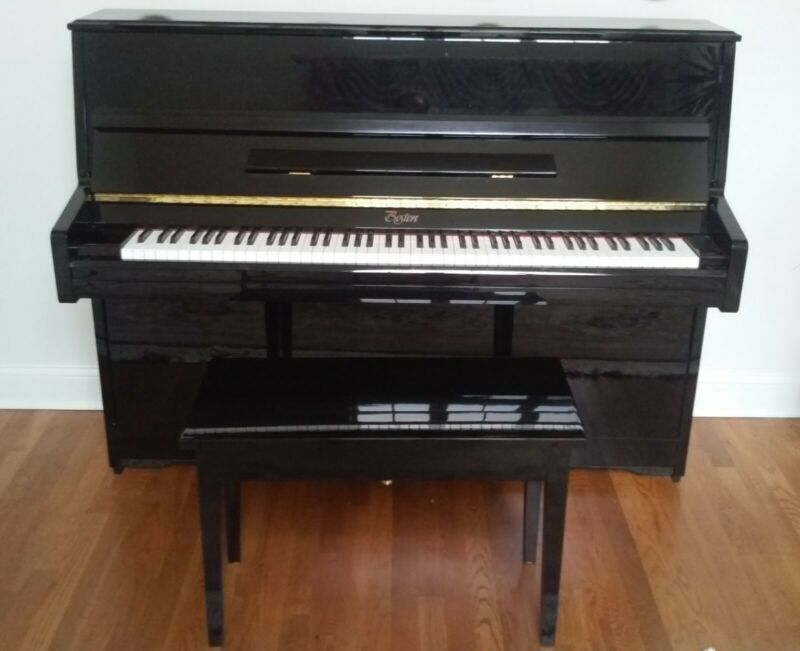 Boston 118C Upright Piano – By Steinway & Sons - Black