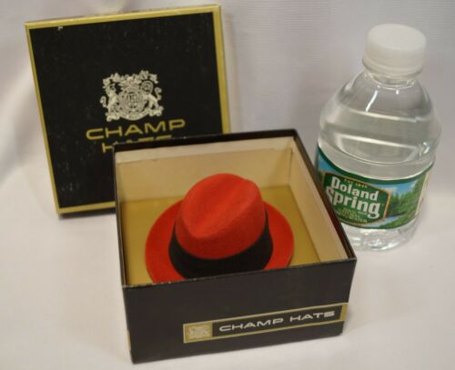 REDUCED Vintage Champ Hats Salesman