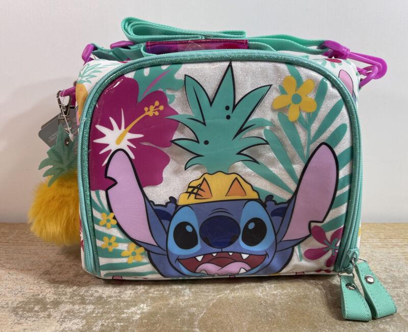 Disney Store Stitch (Lilo & Stitch) Soft Lunch Box Pail