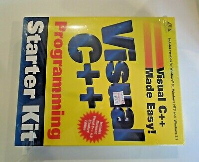 Visual C++Programming  Starter Kit- Vintage- for Windows 3.1. 95, NT