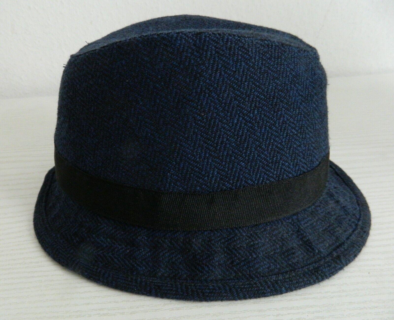 H&M Hut Kinder Gr. 146/152, 11-12 Jahre, dunkelblau