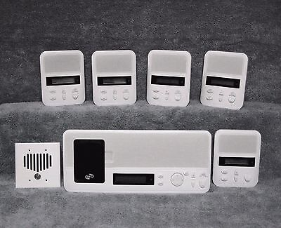 ((5) Room / Patio kit IST IntraSonic I2000M Home Intercom System iPod Dock - New)