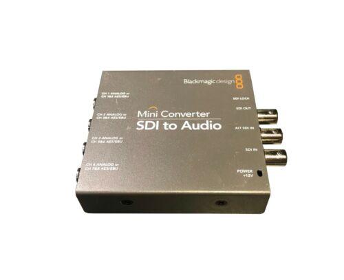 Blackmagic Design Mini Converter SDI to Audio **No power supply**