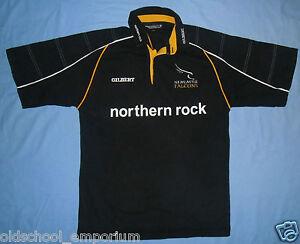 Newcastle FALCONS / 2002 Home - GILBERT - vintage MENS Rugby Shirt / Jersey. M - Poland, Polska - Newcastle FALCONS / 2002 Home - GILBERT - vintage MENS Rugby Shirt / Jersey. M - Poland, Polska